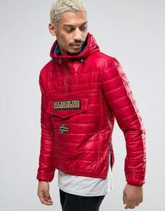 Красная дутая куртка Napapijri - Красный