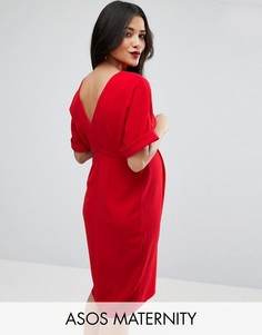 ASOS Maternity Smart Dress - Красный