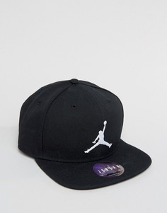 Nike Jordan Jumpman Fitted Snapback In Black 619359-014 - Черный
