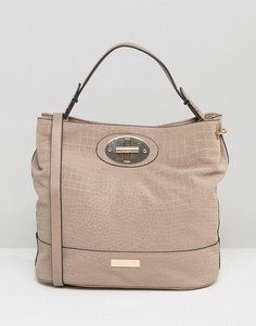 Мешковатая сумка с тиснением Carvela Nadia - Бежевый
