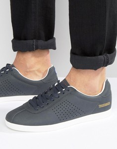 Темно-синие кроссовки в стиле ретро Lambretta - Темно-синий