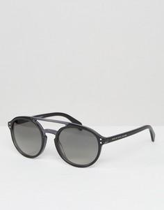 Круглые солнцезащитные очки с планкой Marc By Marc Jacobs - Черный