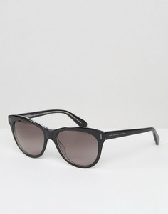 Солнцезащитные очки кошачий глаз Marc By Marc Jacobs - Черный