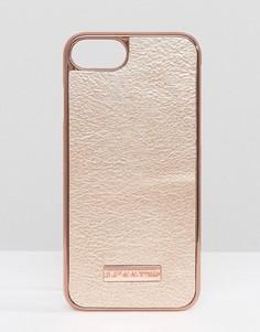Полиуретановый чехол для iPhone 7 цвета розового золота Skinnydip - Медный