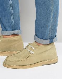 Замшевые ботинки чукка Selected Homme Ronni - Stone
