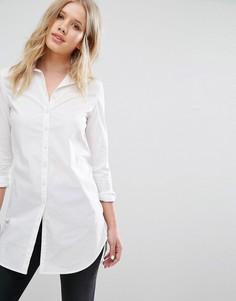 Классическая белая рубашка Hilfiger Denim - Белый