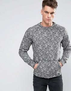 Меланжевый свитер Blend - Коричневый