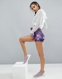 Спортивные шорты с графическим принтом Adidas Tech Fit, 3 дюйма - Мульти