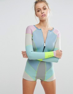 Cynthia Rowley Colour Block Neoprene Wetsuit - Мульти