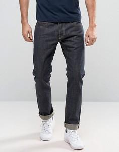 Свободные джинсы c отворотами Edwin ED-49 Rainbow - Синий