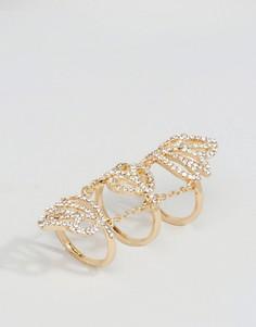 Эффектное кольцо ALDO Grandbassam - Золотой