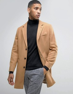 Шерстяное пальто Kiomi - Бежевый