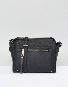 Маленькая сумка через плечо ALDO - Черный