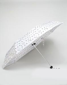 Зонт с принтом спящие облака Monki - Мульти