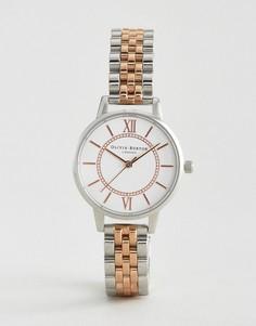 Металлические часы Olivia Burton Wonderland - Серебряный