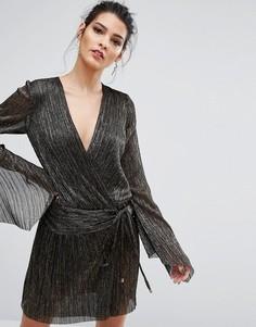 Платье с длинными рукавами Bec & Bridge Glitter Rain - Мульти