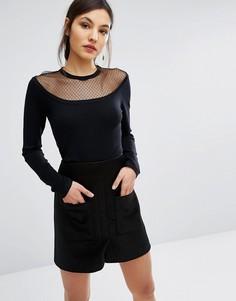 Блузка Lavand - Черный