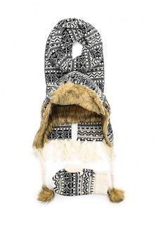 Комплект шапка, шарф и варежки Venera