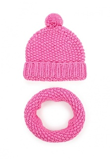 Комплект шапка и шарф снуд Fete