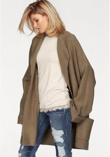 Вязаное пальто с ремешком Laura Scott