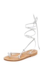 Гладиаторские сандалии Bikini с завязками K. Jacques
