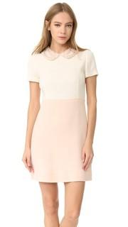 Платье из шерстяного крепа Amelia Toro