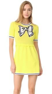 Платье с короткими рукавами Boutique Moschino