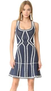 Зигзагообразное платье Issaa Herve Leger