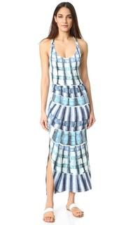 Макси-платье со спиной-борцовкой Mara Hoffman