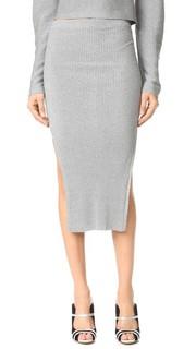 Длинная юбка Mugler