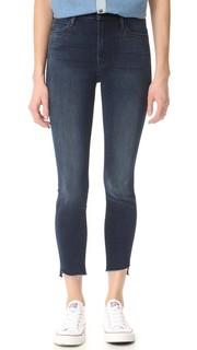 Потрепанные джинсы до щиколотки с молниями Stunner Mother