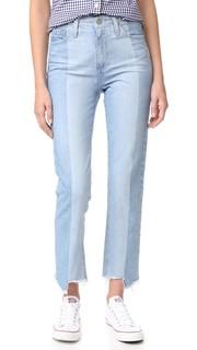 Винтажные джинсы с высокой талией Phoebe AG