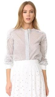 Блуза в черный горошек Amelia Toro