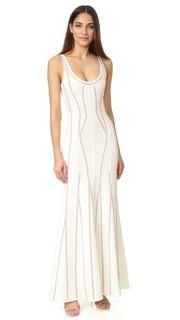 Длинное платье Luisana Herve Leger