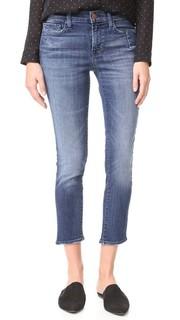 Узкие прямые джинсы Sadey со следами от карманов J Brand