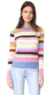 Пуловер с гербом с изображением тигра Kenzo