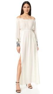 Миди-платье с заниженными плечами Loyd/Ford