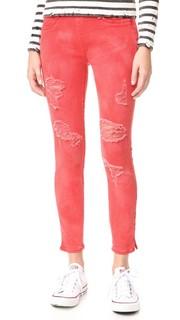 Укороченные джинсы-леггинсы Runway True Religion