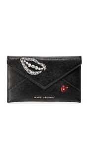 Расшитая блестками сумка-конверт Hand to Heart Marc Jacobs