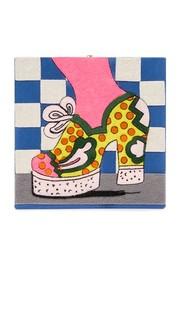Клатч Shoe в горошек Olympia Le Tan