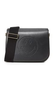 Сумка-портфель Ebury с изображением смайла Anya Hindmarch