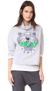 Пуловер с вышитым тигром Kenzo