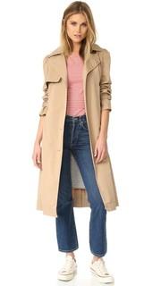 Пальто-тренч из твила La Vie Rebecca Taylor