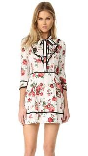 Платье с цветочным рисунком и завязками у выреза Re:Named