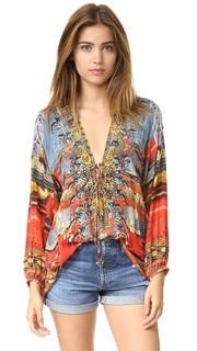 Рубашка Wandress на шнуровке Camilla