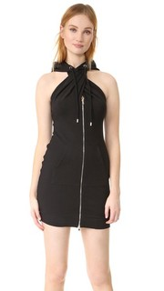 Платье с капюшоном Moschino