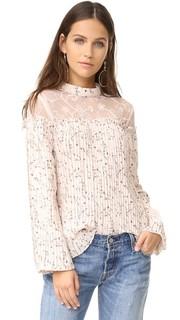 Блуза со складками Moon River