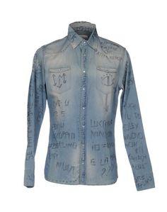 Джинсовая рубашка Daniele Alessandrini Homme
