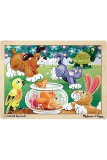 """Пазлы """"Шаловливые животные"""" Melissa & Doug"""