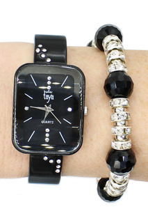 Набор: часы, ремешок Taya
